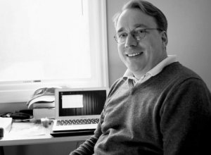 O criador do kernel, Linus Torvalds
